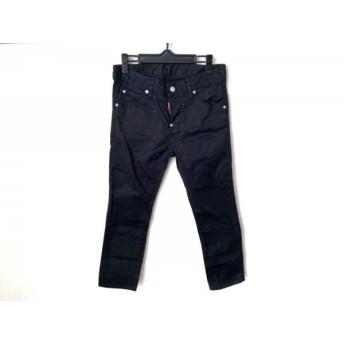 【中古】 ディースクエアード DSQUARED2 パンツ サイズ34 XS レディース 黒