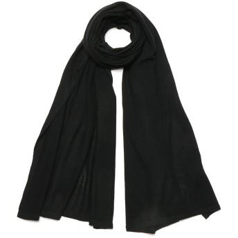 【71%OFF】カシミヤ ショール ブラック