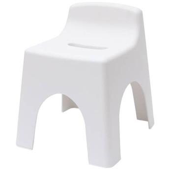 抗菌くつろげる風呂いす 座面高30cm ホワイト ホームコーディ 座面高30cm バス用品