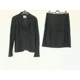 【中古】 セオリーリュクス theory luxe スカートスーツ サイズ42 L レディース 黒