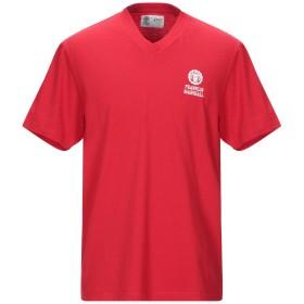 《期間限定セール開催中!》FRANKLIN & MARSHALL メンズ T シャツ レッド L コットン 100%