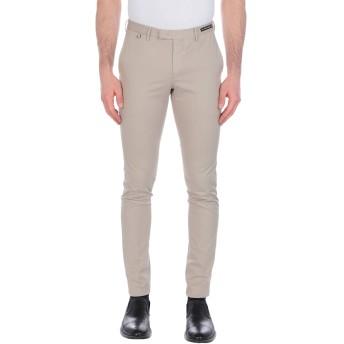 《9/20まで! 限定セール開催中》PT01 GHOST PROJECT メンズ パンツ ベージュ 46 コットン 86% / 麻 10% / ポリウレタン 4%