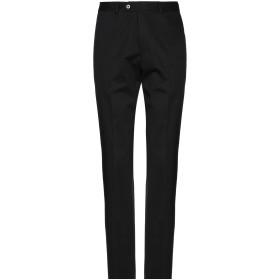 《期間限定 セール開催中》CORNELIANI メンズ パンツ ブラック 46 コットン 97% / ポリウレタン 3%