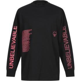 《セール開催中》FRANKLIN & MARSHALL メンズ スウェットシャツ ブラック L コットン 100%
