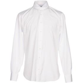 《セール開催中》CORDONE 1956 メンズ シャツ ホワイト 38 コットン 100%