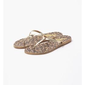 【トゥモローランド/TOMORROWLAND】 Ancient Greek Sandals メタリックレオパードトングサンダル