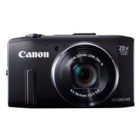 Power 光学20倍ズーム PSSX280HS 約1210万画素 Shot ブラック SX280HS Canon デジタルカメラ