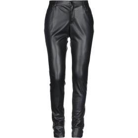 《期間限定セール開催中!》LIU JO レディース パンツ ブラック 44 ポリエステル 100% / ポリウレタン樹脂