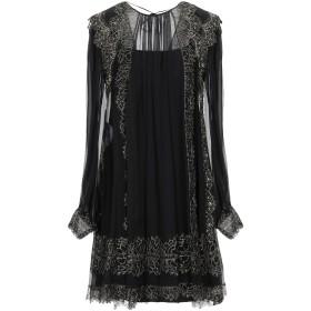 《セール開催中》ALBERTA FERRETTI レディース ミニワンピース&ドレス ブラック 38 シルク 100% / ナイロン / ポリエステル