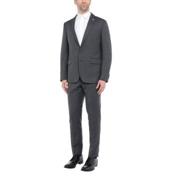 《セール開催中》FACIS メンズ スーツ 鉛色 50 バージンウール 100%