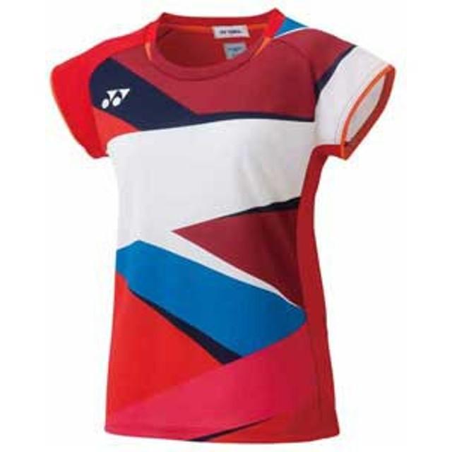 47d47ebcc394e1 ヨネックス YO 20490 496 M レディース ゲームシャツ(サンセットレッド・サイズ:M