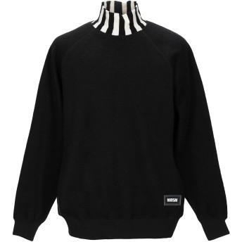 《期間限定セール開催中!》BONSAI メンズ スウェットシャツ ブラック M コットン 95% / ポリウレタン 5%