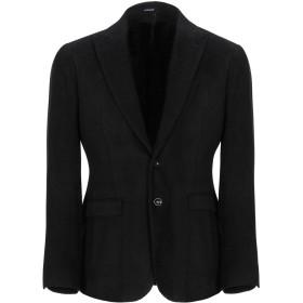 《期間限定セール開催中!》OFFICINA 36 メンズ テーラードジャケット ブラック 48 コットン 55% / レーヨン 45%