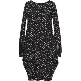 《セール開催中》SAVE THE QUEEN レディース ミニワンピース&ドレス ブラック M Viloft 88% / ナイロン 7% / ポリウレタン 5%
