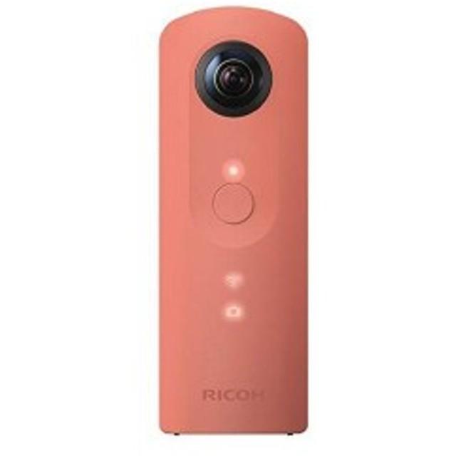 360度カメラ 910741 全天球カメラ THETA RICOH (ピンク) SC RICOH