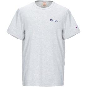 《期間限定 セール開催中》CHAMPION REVERSE WEAVE メンズ T シャツ ライトグレー XL コットン 80% / ポリエステル 20%