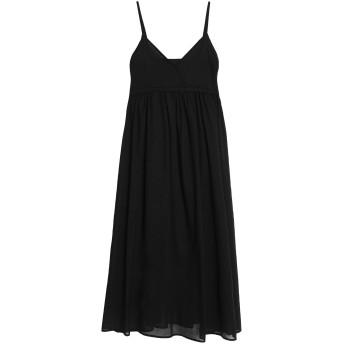 《セール開催中》IRIS & INK レディース 7分丈ワンピース・ドレス ブラック 8 コットン 100%
