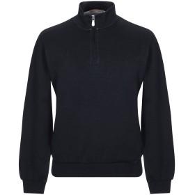 《期間限定セール開催中!》ELEVENTY メンズ スウェットシャツ ブラック M コットン 98% / ナイロン 2%