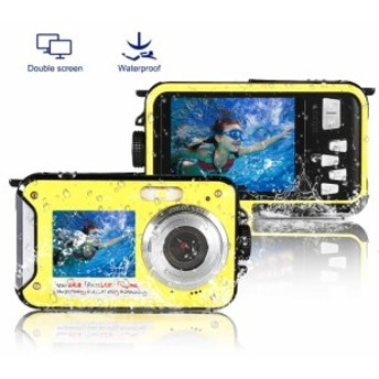防水カメラ デジタルカメラ アクションカメラ 水中カメラ フルHD 1080P デジカメ スポーツカメラ 24.0MP 高画質