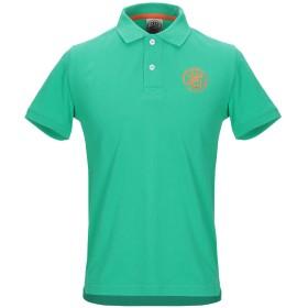《期間限定セール開催中!》FRED MELLO メンズ ポロシャツ グリーン S コットン 100%