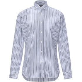 《期間限定セール開催中!》CALIBAN メンズ シャツ ダークブルー 38 コットン 100%
