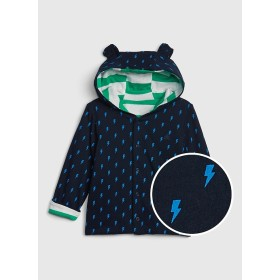 Gap ストライプ フード付きセーター (ベビー)
