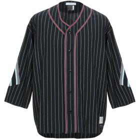 《期間限定セール開催中!》FACETASM メンズ シャツ ブラック 4 ウール 100% / コットン