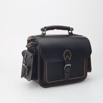 【切線派】★特別版★本革手作りのクラシックレザーカメラバッグをショルダーバッグ