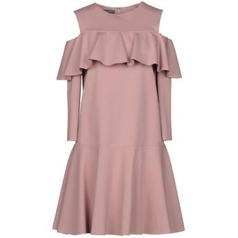 《セール開催中》ALBERTA FERRETTI レディース ミニワンピース&ドレス ピンク 42 レーヨン 65% / ナイロン 30% / 指定外繊維 5%