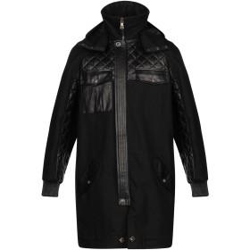 《期間限定 セール開催中》VERSUS VERSACE メンズ コート ブラック 48 コットン 100%