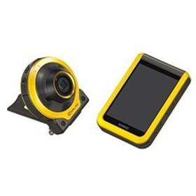 デジタルカメラ カメラ部/モニター部分離 イエロー EXFR100 フリースタイルカメラ CASIO EX-FR100YW