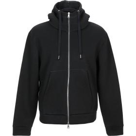 《9/20まで! 限定セール開催中》BRIAN DALES メンズ スウェットシャツ ブラック XL レーヨン 75% / ポリウレタン 25%