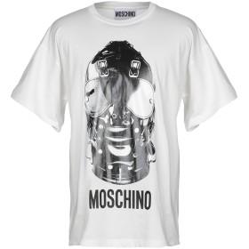 《セール開催中》MOSCHINO メンズ T シャツ ホワイト XS コットン 100%