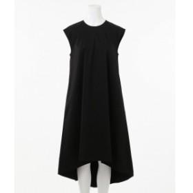 カルバン・クライン ウィメン(Calvin Klein women)/【2019SS IMPORT企画】バッグイレギュラーヘム ワンピース