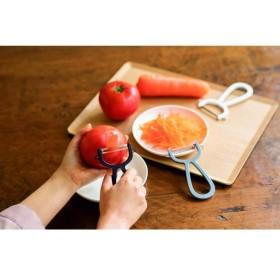 せんぎりピーラー グレー ホームコーディ グレー(せん切り) キッチンハサミ・おろし器・ピューラー