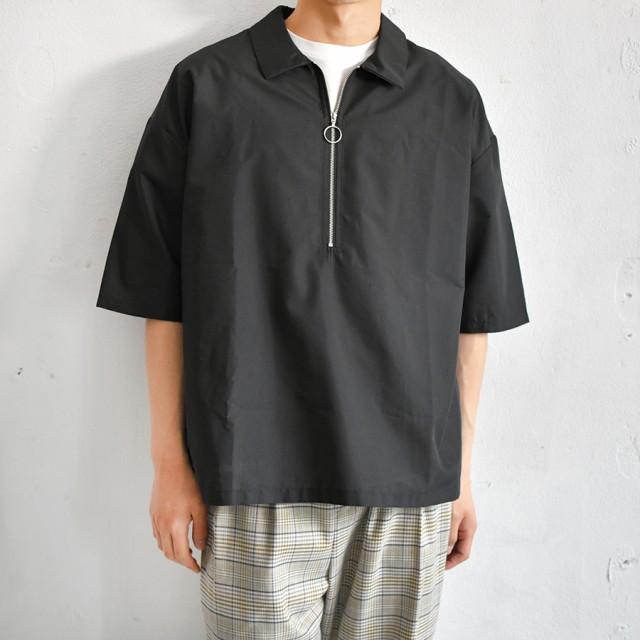 シャツ - pairpair【MEN】 【リンクコーデ専門ブランド/ペアペア】ハーフジップシャツ(メンズ)