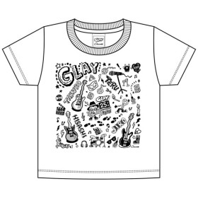 GLAY Tシャツ(ホワイト)キッズ100