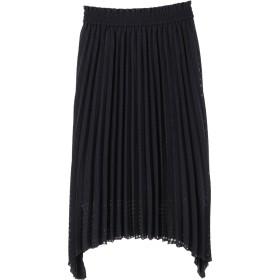 【5,000円以上お買物で送料無料】シャドウチェックプリーツスカート