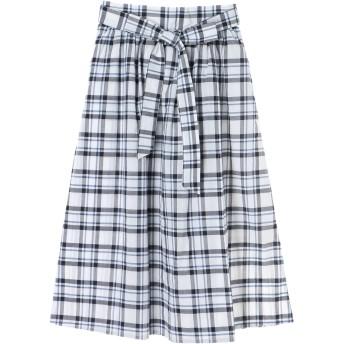 【6,000円(税込)以上のお買物で全国送料無料。】チェックギャザースカート