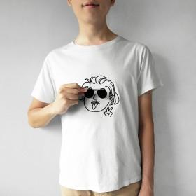 【Einstein - アインシュタイン】Deco Tシャツ