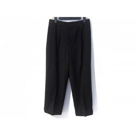 【中古】 ニジュウサンク 23区 パンツ サイズ36 S レディース 美品 ダークネイビー