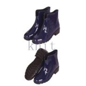 レインシューズレディースレインブーツ雨靴防水雨具おしゃれ梅雨雨対策サイドゴアブーツ通勤雨の日グッズ美足美脚GYX-AL52