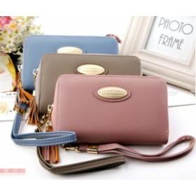 新しい女性の財布短いタッセル財布ファッションマルチカードジッパーバッグ母の日ギフト/女性/人気/財布