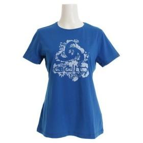 オドロ(ODLO) クルーネック半袖Tシャツ KUMANO 550091mykonos blue - placed pr (Lady's)
