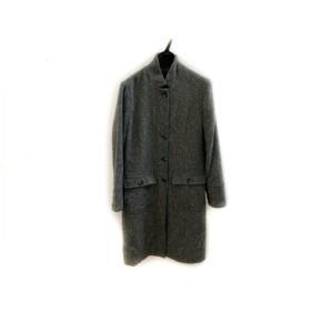 【中古】 エディバウワー Eddie Bauer コート サイズM レディース 美品 グレー ライトブルー 冬物