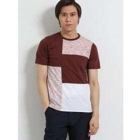 [マルイ]【セール】接触冷感 クレイジー異素材切替クルーネック半袖Tシャツ/タカキュー(TAKA-Q)