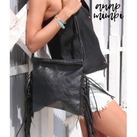 ANAP(アナップ)サイドフリンジデザインバッグ
