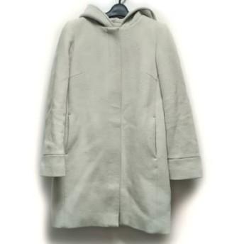 【中古】 ロペ ROPE コート サイズ40 M レディース ライトグレー 冬物