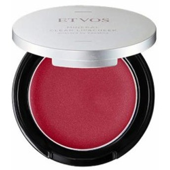 ・ETVOS(エトヴォス) ミネラルクリアリップ&チーク #プラムレッド 2.5g ビューテイー