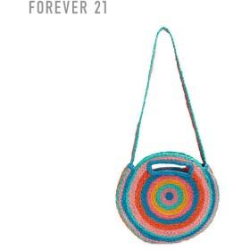 FOREVER21 フォーエバー21 【マルチカラーラウンドショルダーバッグ】(5,000円以上購入で送料無料)